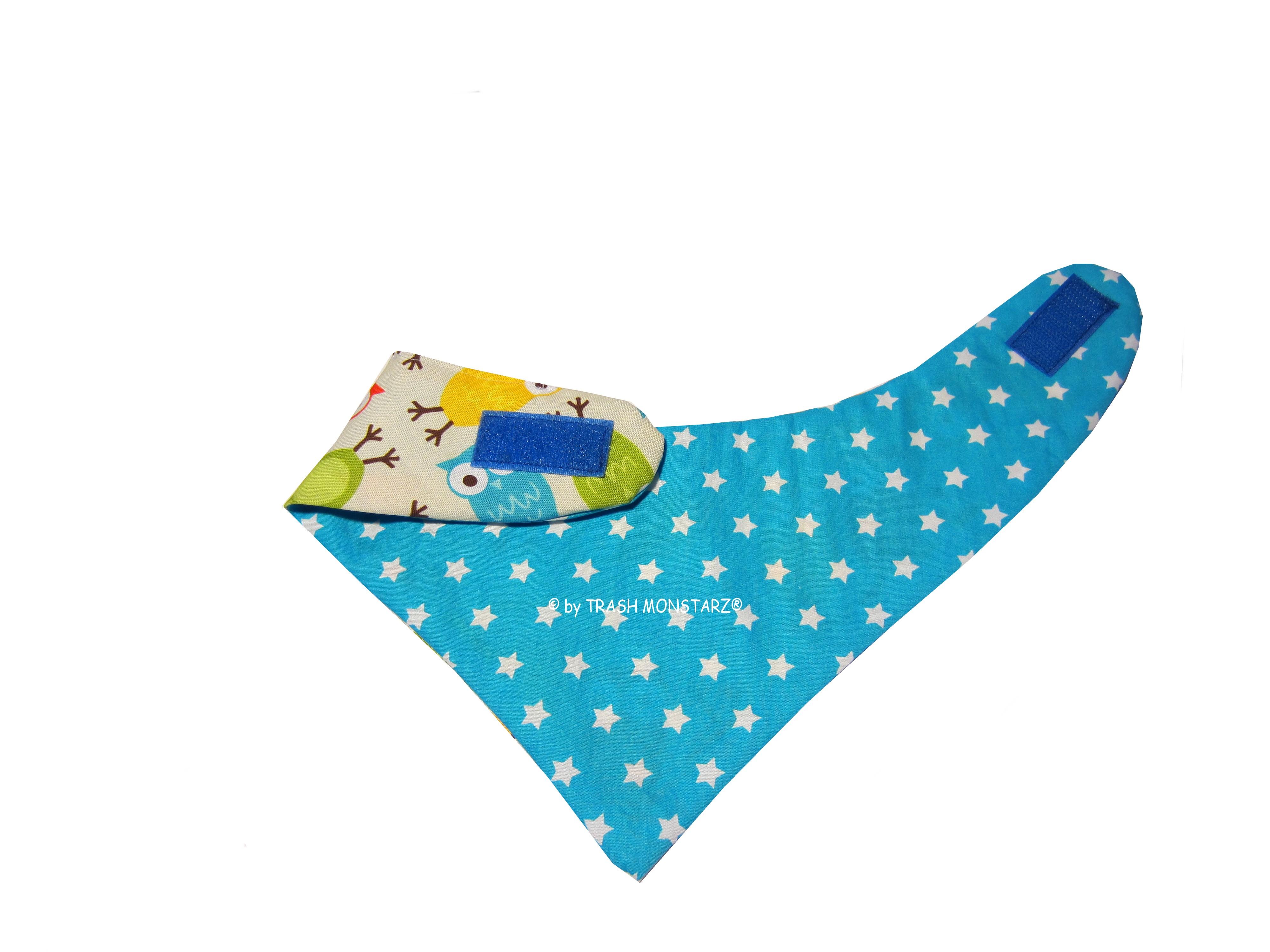 Schnittmuster Halstuch nähen für Babys und Kinder