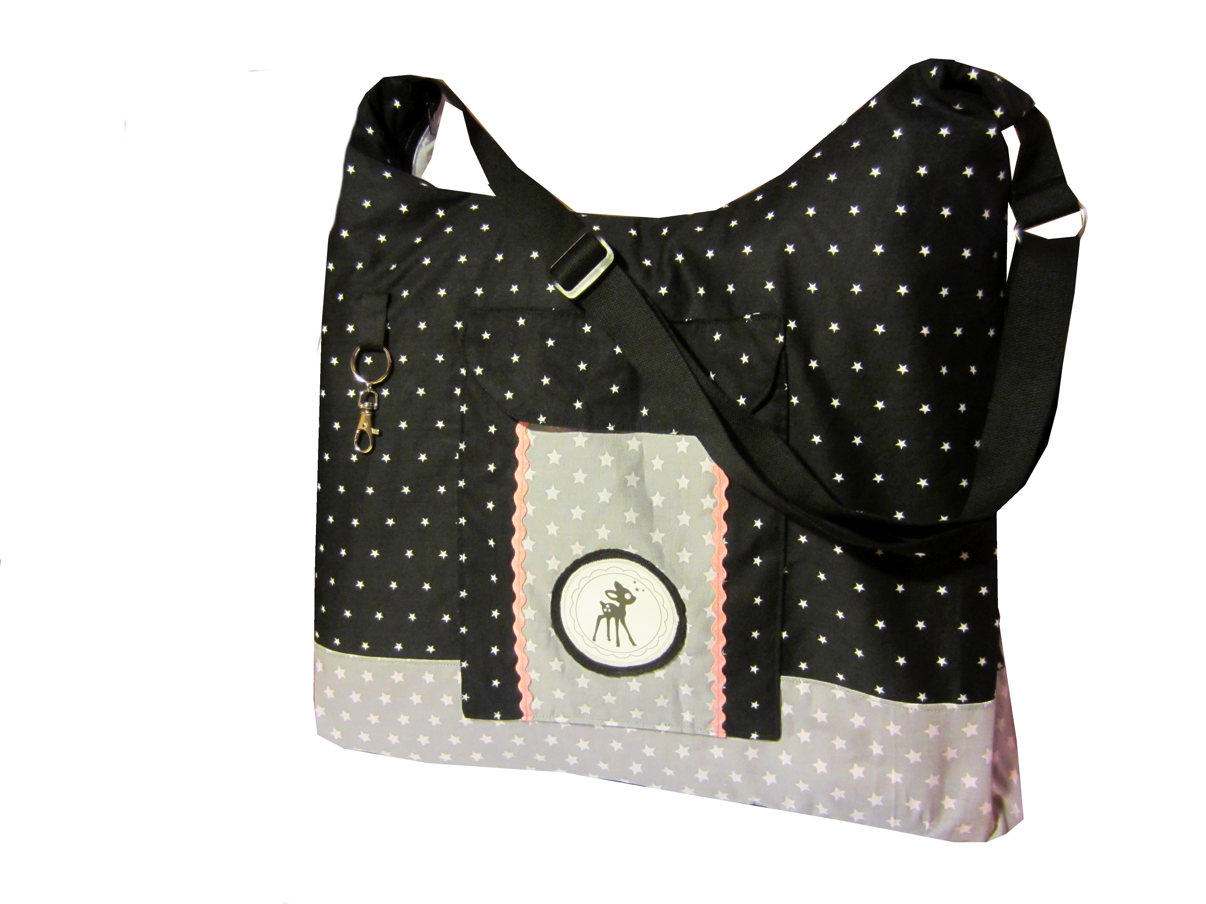 tasche mia schnittmuster tasche mit rei verschluss. Black Bedroom Furniture Sets. Home Design Ideas