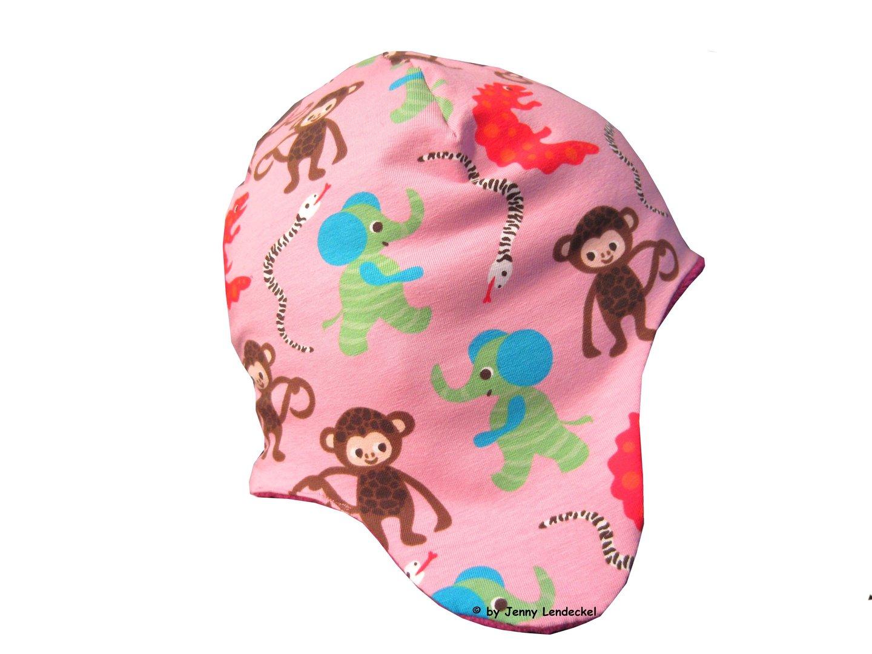 5 Minuten-Mütze und Schal - Schnittmuster Mütze nähen