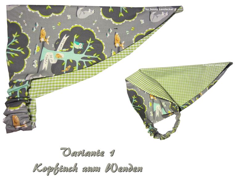 Fine Kopftuch Schnittmuster Images - Decke Stricken Muster ...