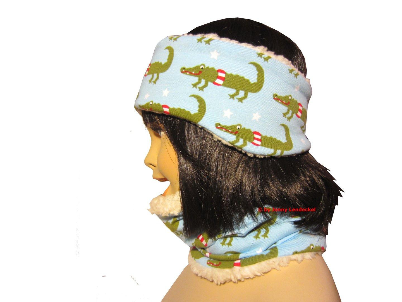 Schnittmuster Stirnband und Loop nähen