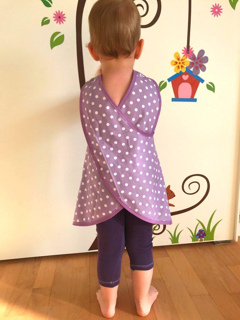 Luxury Kinder Schürze Schnittmuster Gallery - Decke Stricken Muster ...