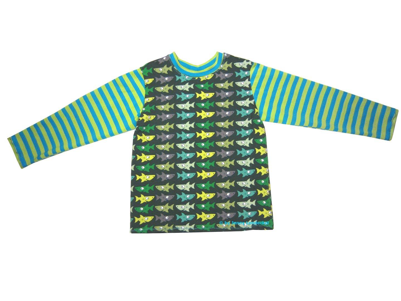 Kinder T-Shirt und Kinderpullover nähen, Schnittmuster Shirt Kind