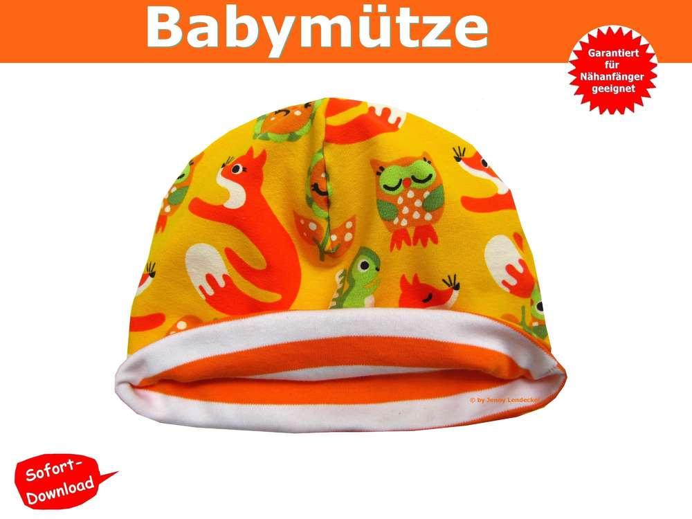 Ziemlich Babymütze Schnittmuster Ideen - Schal-Strickende Muster ...