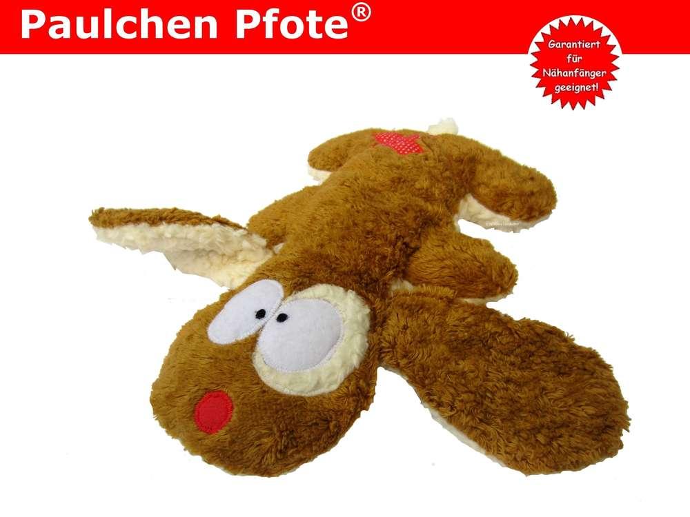 Paulchen Pfote® Kuscheltier nähen - Schnittmuster & Nähanleitung