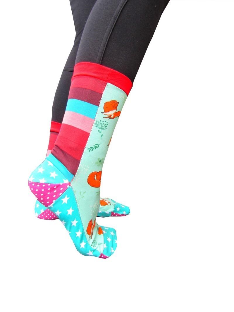 Socken nähen - Schnittmuster & Anleitung
