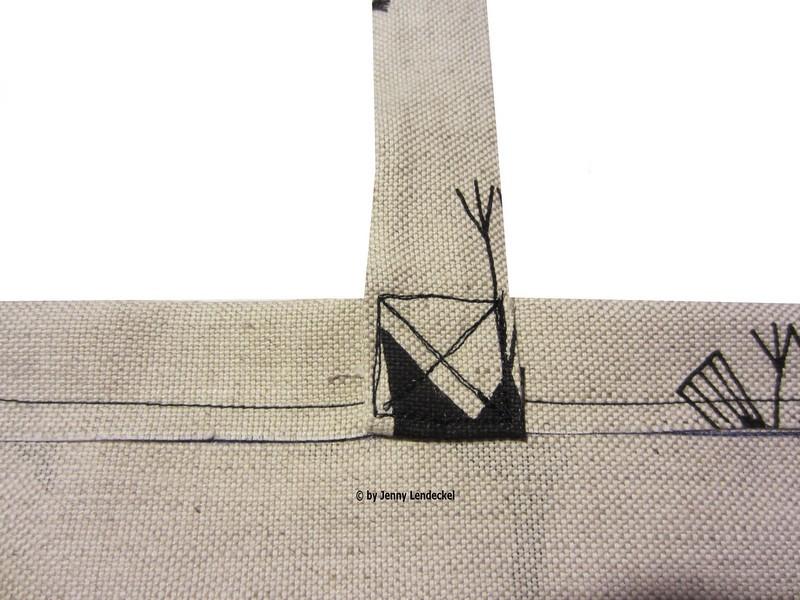 Schnittmuster Tasche kostenlos - Für Anfänger